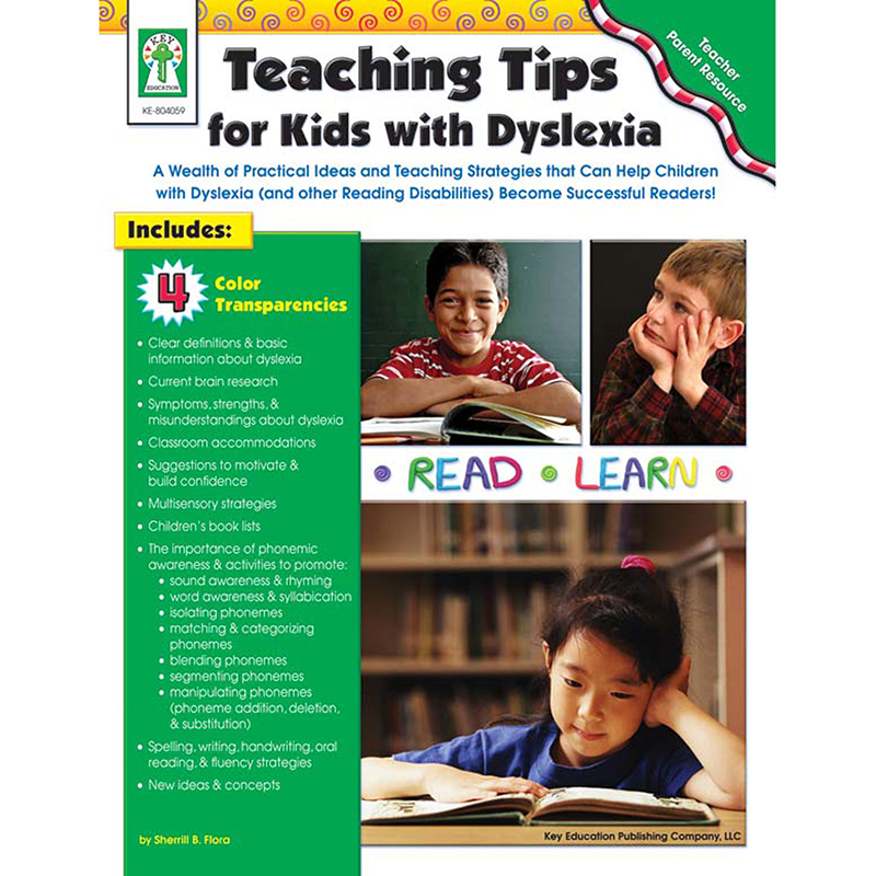 TEACHING TIPS FOR KIDS WITH DYSLEXIA BOOK
