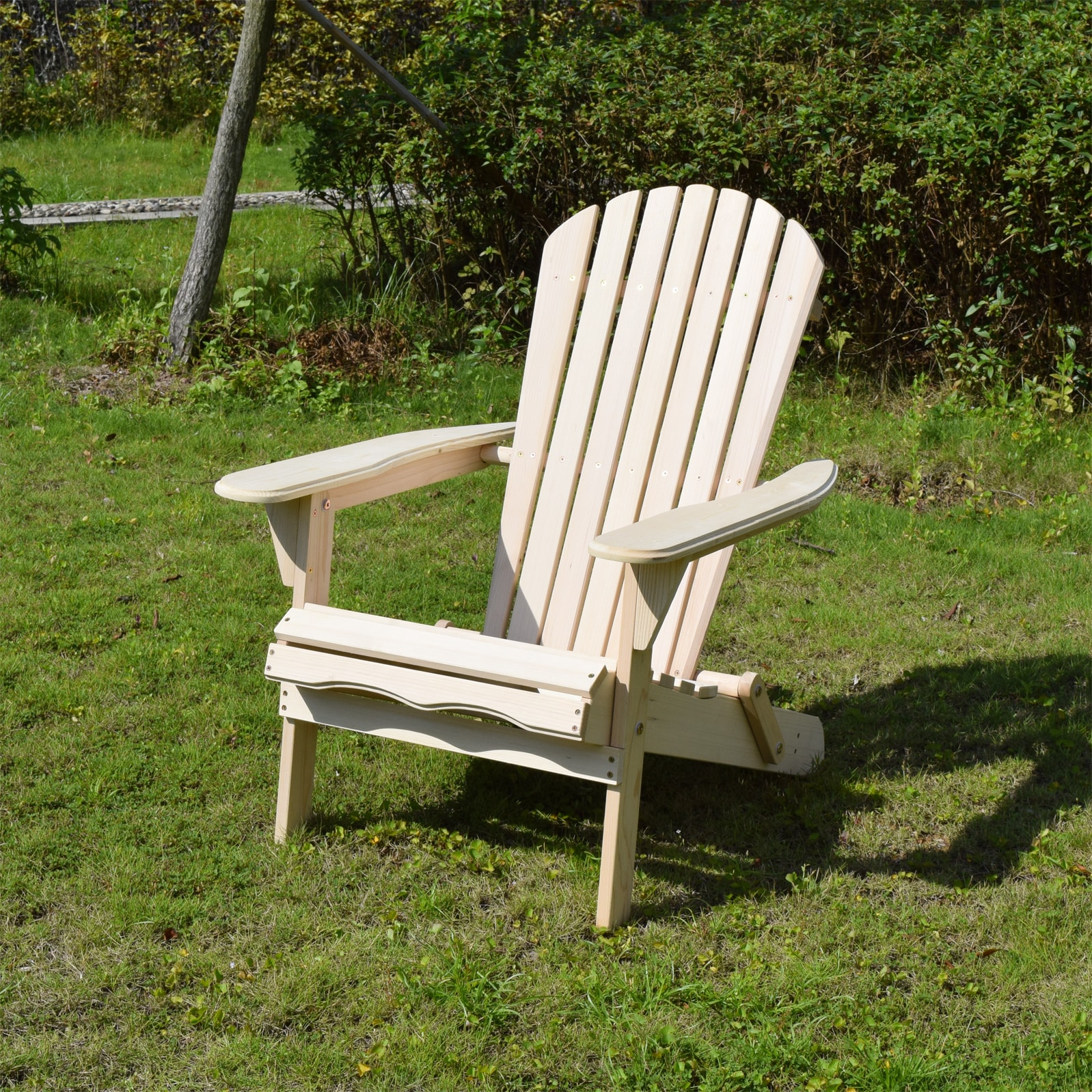 Foldable Adirondack Chair Kit by Overstock