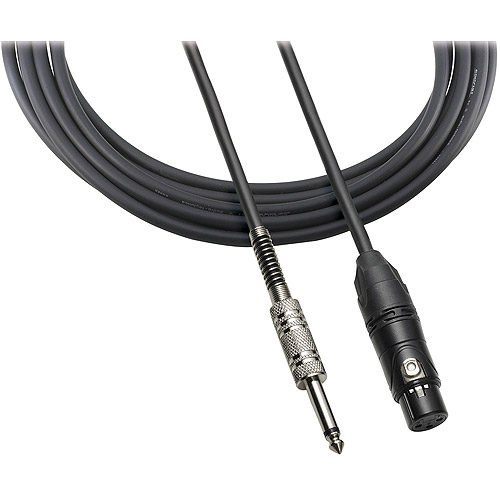 "Audio Technica ATR-MCU20 XLR 1/4"" Mic Cable, 20'"