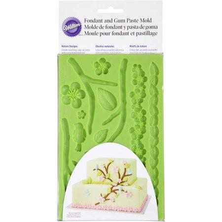 Wilton Fondant and Gum Paste Mold, Nature