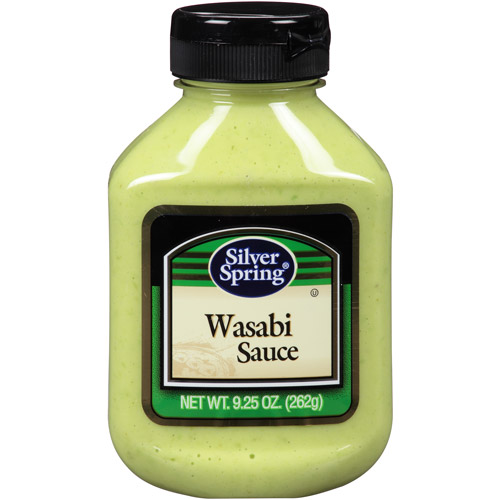 Silver Spring Wasabi Sauce, 9.25 oz, (Pack of 9)