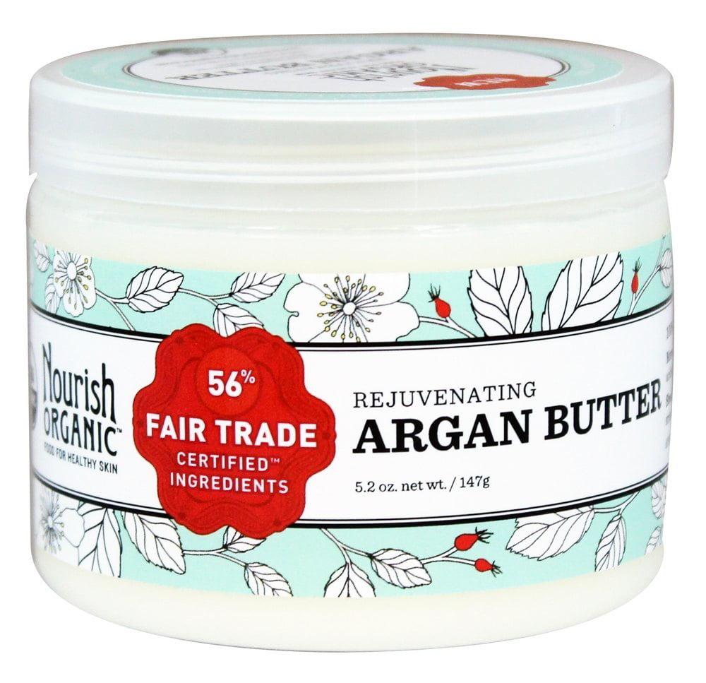 Nourish - Organic Rejuvenating Argan Butter - 5.2 oz.