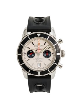 Pre-Owned Breitling Superocean A23320 Steel  Watch (Certified Authentic & Warranty)