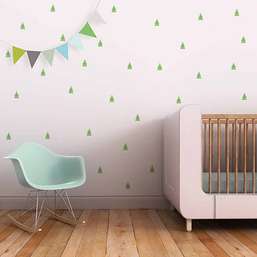Pine Trees Fabric Wall Decals