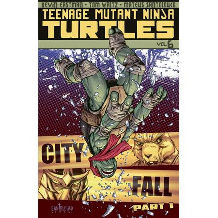 Teenage Mutant Ninja Turtles Vol. 6: City Fall, Part 1 - eBook