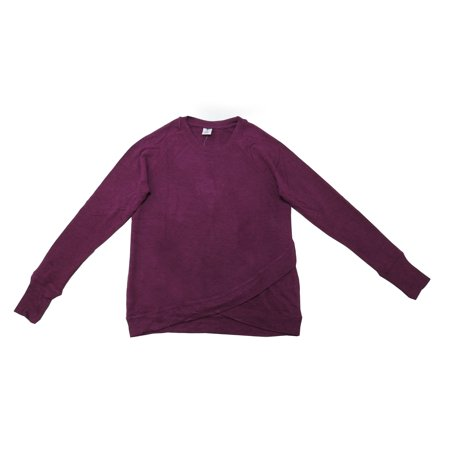 Active Life Womens Size Medium Modal Pullover L/S Sweater, Beach Plum Heather ()