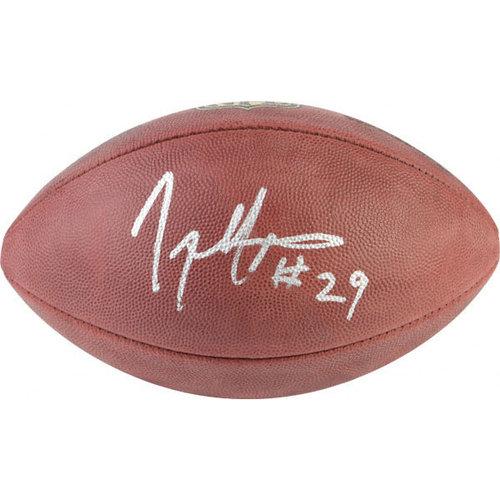 NFL - Joseph Addai Autographed Football   Details: Duke Game Football