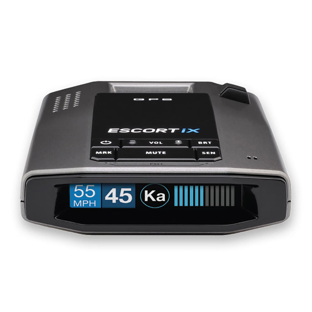 Escort IX Long Range GPS AutoLearn Live App Enabled Laser Car Radar Detector by Escort