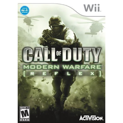 Call Of Duty Modern Warfare Reflex Nintendo Wii Walmart Com