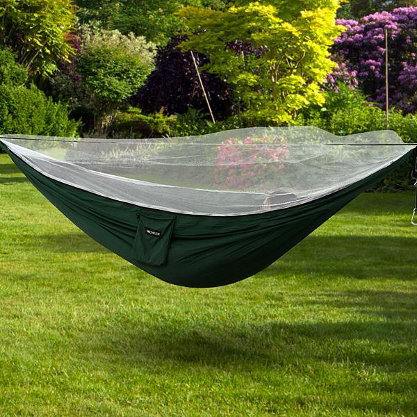 Holiday Clearance! 2 Person Oxford Mesh Waterproof Hammock Hanging Tree Single Layer Folding Camping Garden Outdoor Hammock HFON