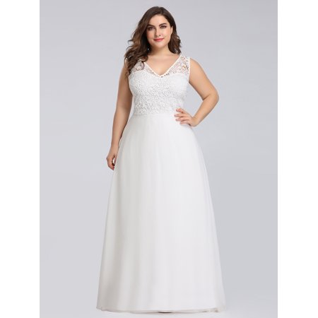 Ever-pretty - Ever-Pretty Womens Plus Size Lace Prom Party ...
