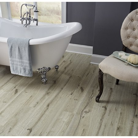 Pacific Pearl 4mm Thickness x 5.91 in. Width x 48 in Length HDPC Embossed Vinyl Plank (19.69 sq. ft. / case)