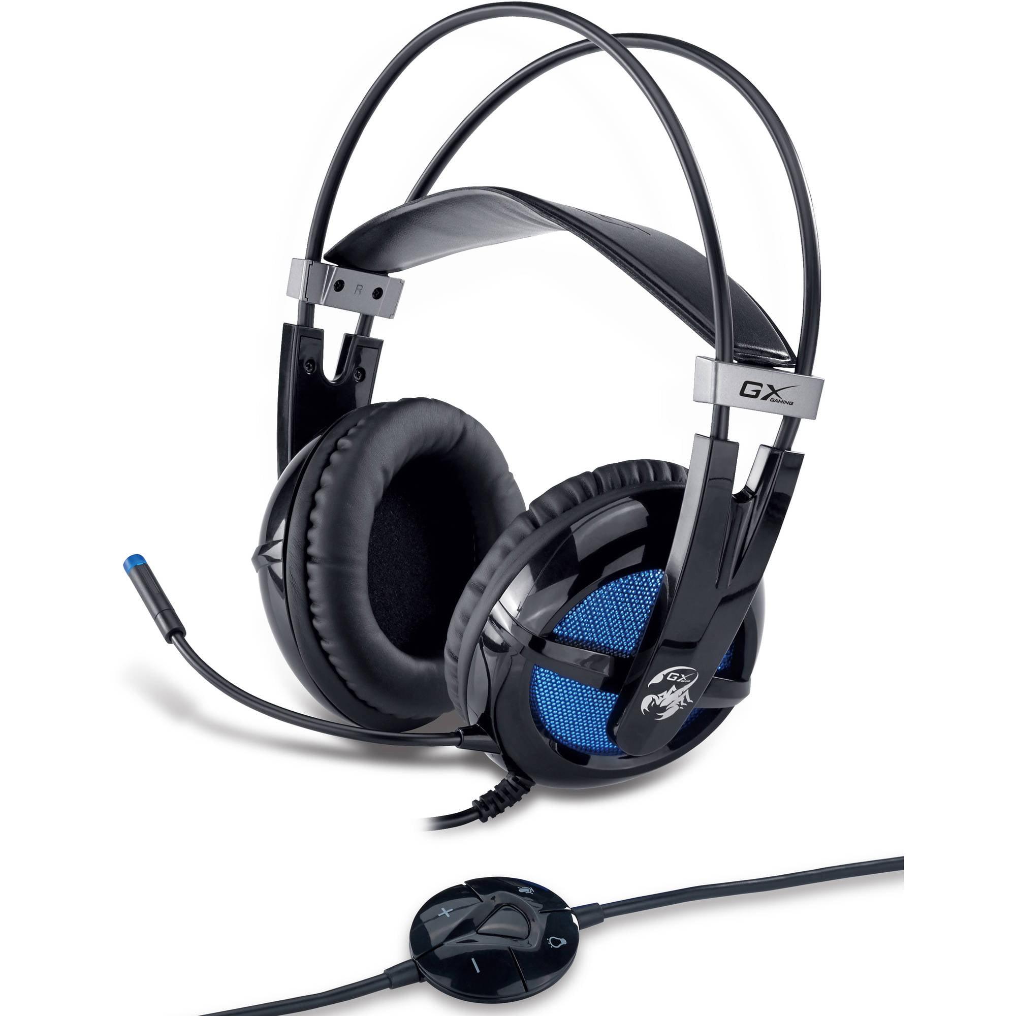 KYE Genius GX Gaming Virtual 7.1 - Channel Junceus Gaming Headset, Black