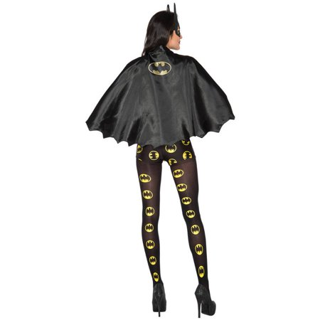 Batgirl Halloween Costume Accessories (Batgirl Womens Tights Halloween Costume)