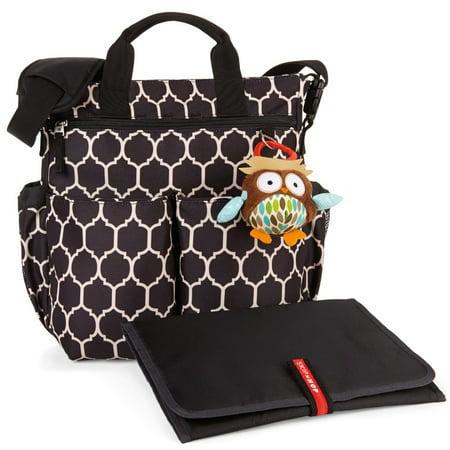 Skip Hop Duo Signature Diaper Bag - Onyx Tile