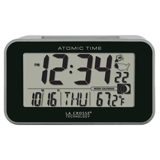 La Crosse Technology Ltd 617-1270 Atomic LCD Alarm Clock by La Crosse Technology Ltd