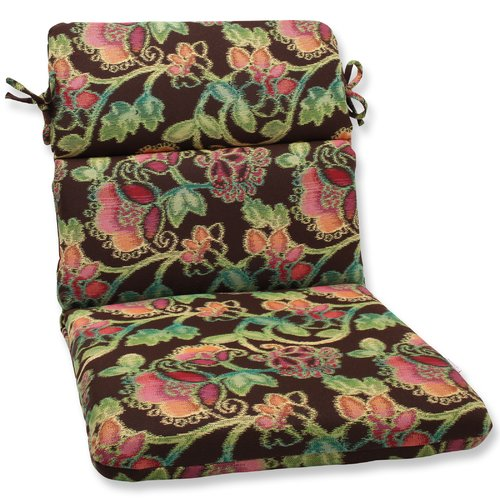 Pillow Perfect Vagabond Indoor/Outdoor Sunbrella Lounge Chair Cushion