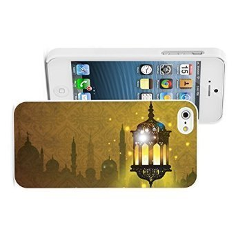 Apple iPhone 6 6s Hard Color Back Case Cover Protector Arabic Lantern Lamp with...