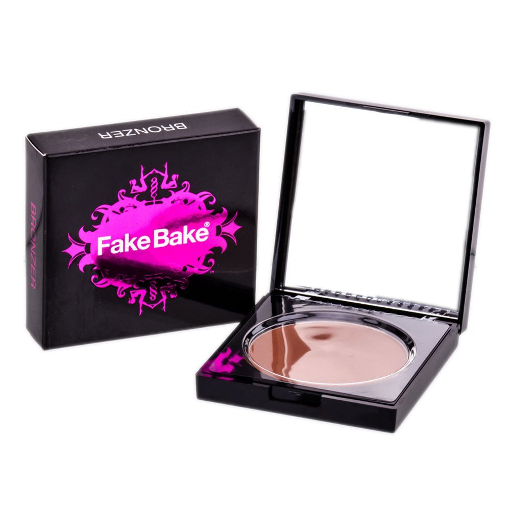 Fake Bake Bronzy Babe Pressed Powder Soft Sheer Bronzer Compact