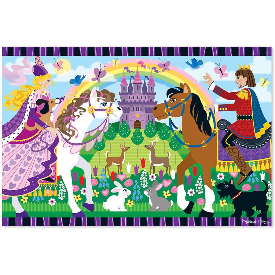 Melissa & Doug Fairy Tale Friendship Floor Puzzle, 24pc