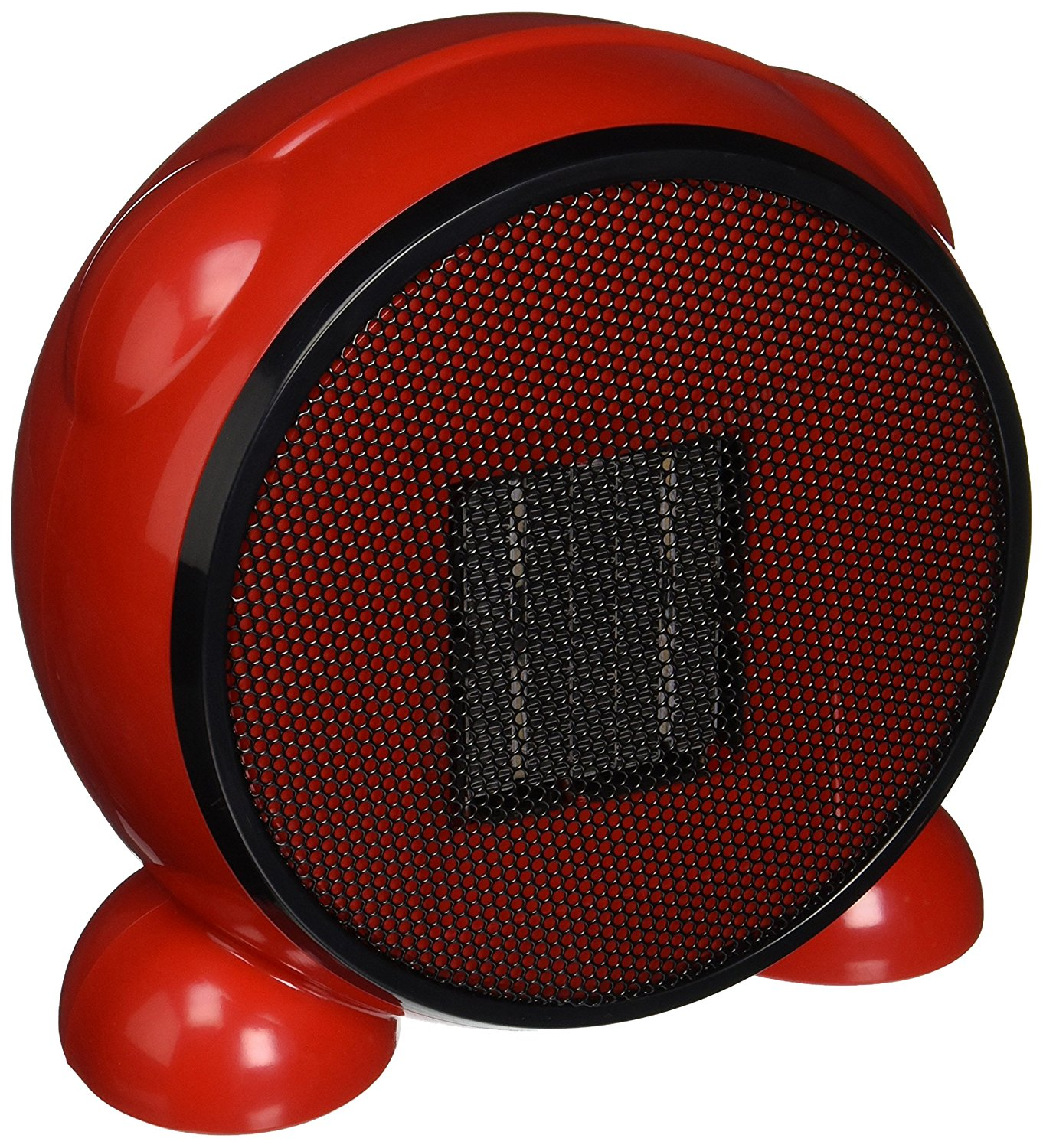 LEDMart Portable Space/Desktop Heater, Red