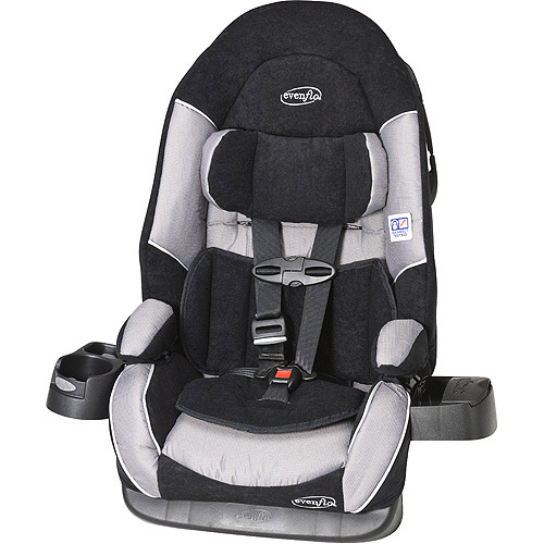 Evenflo Chase Booster Car Seat, Morse Code