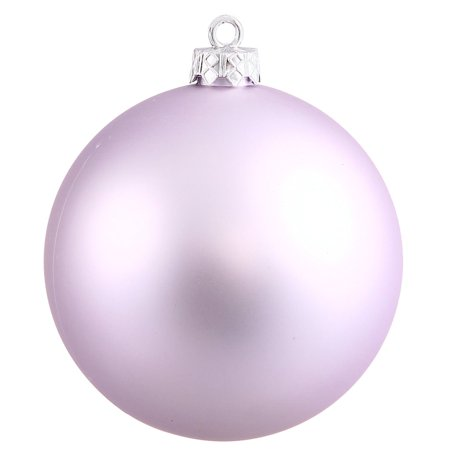Soft Lavender Ball Ornament - Vickerman 248515 - 2.4