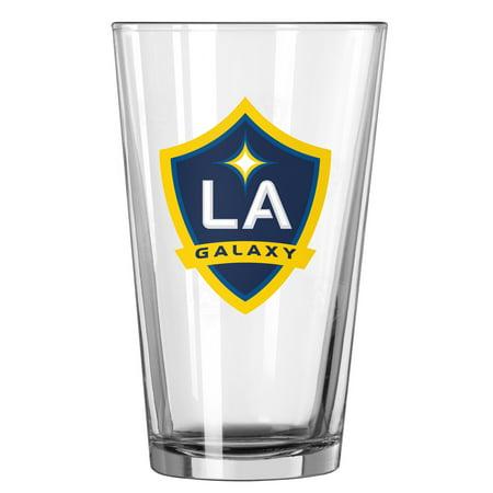 LA Galaxy 16oz. Satin Etch Pint Glass - No Size