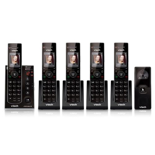 Vtech IS7121-2 Audio/Video DoorbellPhone with IS7101-3 Cordless Handsets