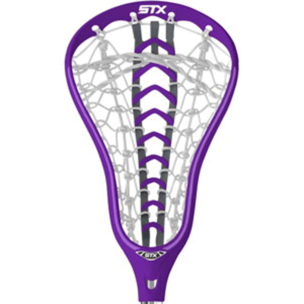 STX Fortress 500 Women's Lacrosse Head Purple and Plum Launch Pocket