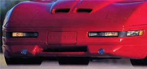 1991-1996 Corvette Front Spoiler Kit 3 Piece