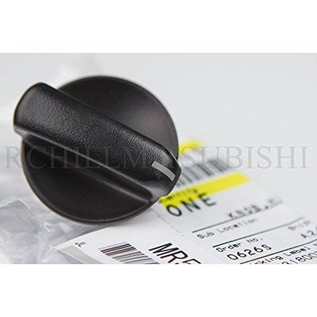 GENUINE MITSUBISHI HEATER TEMPERATURE AND MODE CONTROL KNOB MR500925 LANCER 2002 2003 2004 2005 2006 2007