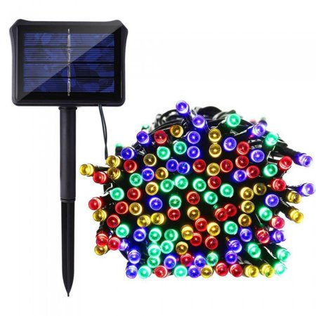 100 LED SOLAR STRING LIGHT- MULTI COLOR (String Color)