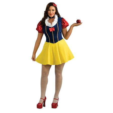 Plus Snow White Costume Rubies - Snow White Costume Plus