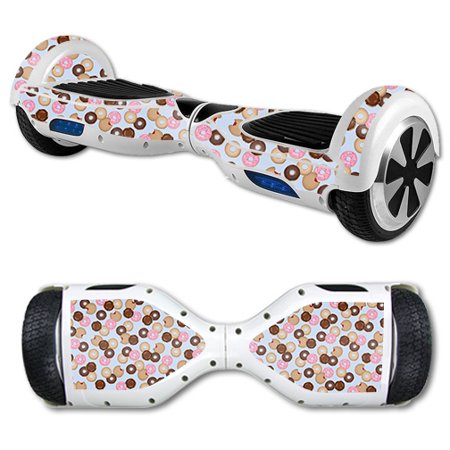 Tetra Easy Balance - Skin For Self Balancing Mini Scooter Hover Board – Donut Binge   MightySkins Protective, Durable, and Unique Vinyl Decal wrap cover   Easy To Apply, Remove, and Change Styles   Made in the USA