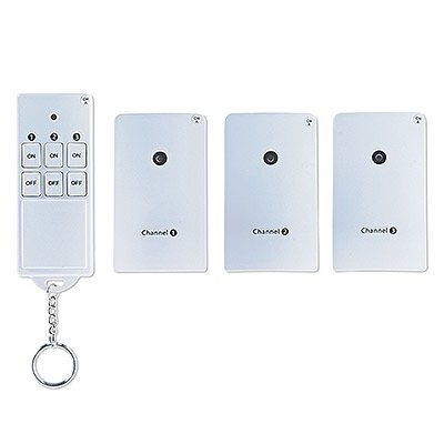 KAB ENTERPRISE CO LTD Wireless Outlet Remote Control, 3-Pk.