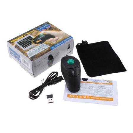 8bb4d9e5e2a AGPtek Wireless Finger HandHeld USB Mouse Trackball Mouse Rollerball Mice -  Walmart.com