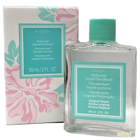 Avon Long Lasting Perfumed Liquid Deodorant Floral Scent For Women, 2 Fl Oz
