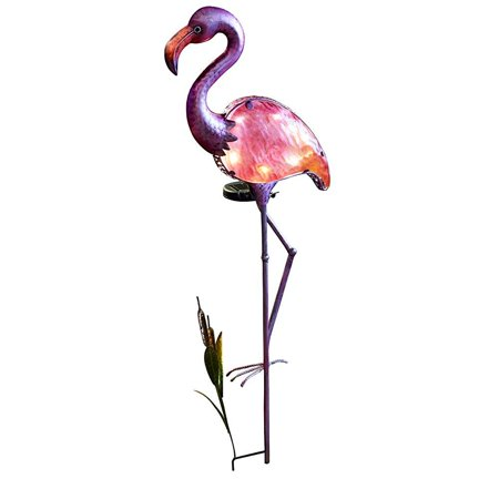 Moonrays 92515 Solar Powered Flamingo Stake Light](Light Stakes)
