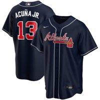 Ronald Acuna Jr. Atlanta Braves Nike Alternate 2020 Replica Player Jersey - Navy
