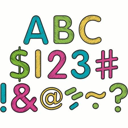 CHALKBOARD BRIGHTS CLASSIC 2 IN LETTERS UPPERCASE PK - Chalkboard Letters