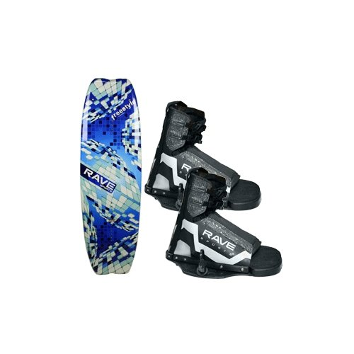 RAVE SPORTS 02392   Rave Freestyle Wakeboard w Striker Boots by
