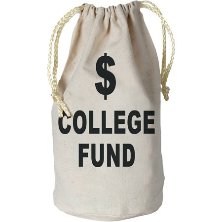 College Fund Money Bag Adult Halloween Accessory](Money Talks Halloween)