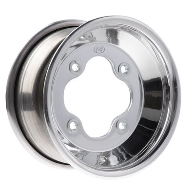 4/110 ITP .190 A-6 Grand Prix Wheel 9X8 3.0 + 5.0 Polished for Bombardier DS90 2-Stroke