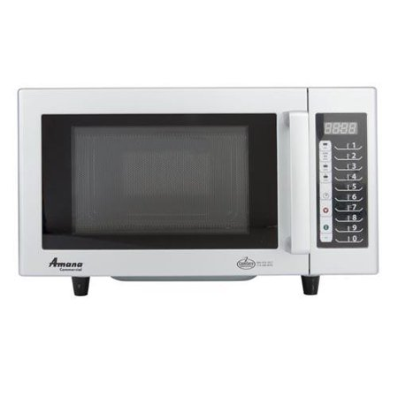 Amana - RMS10TS - 1000 Watt Digital Commercial Microwave Oven
