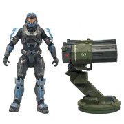 "Halo Reach Warthog Rocket Launcher with 5"" Spartan JFO Figure"