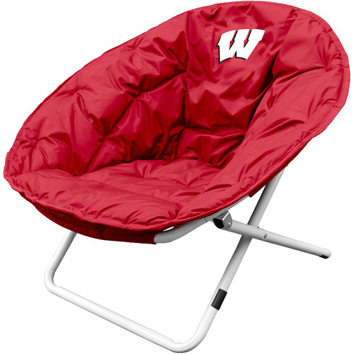 Logo Chair NCAA Wisconsin Sphere Chair