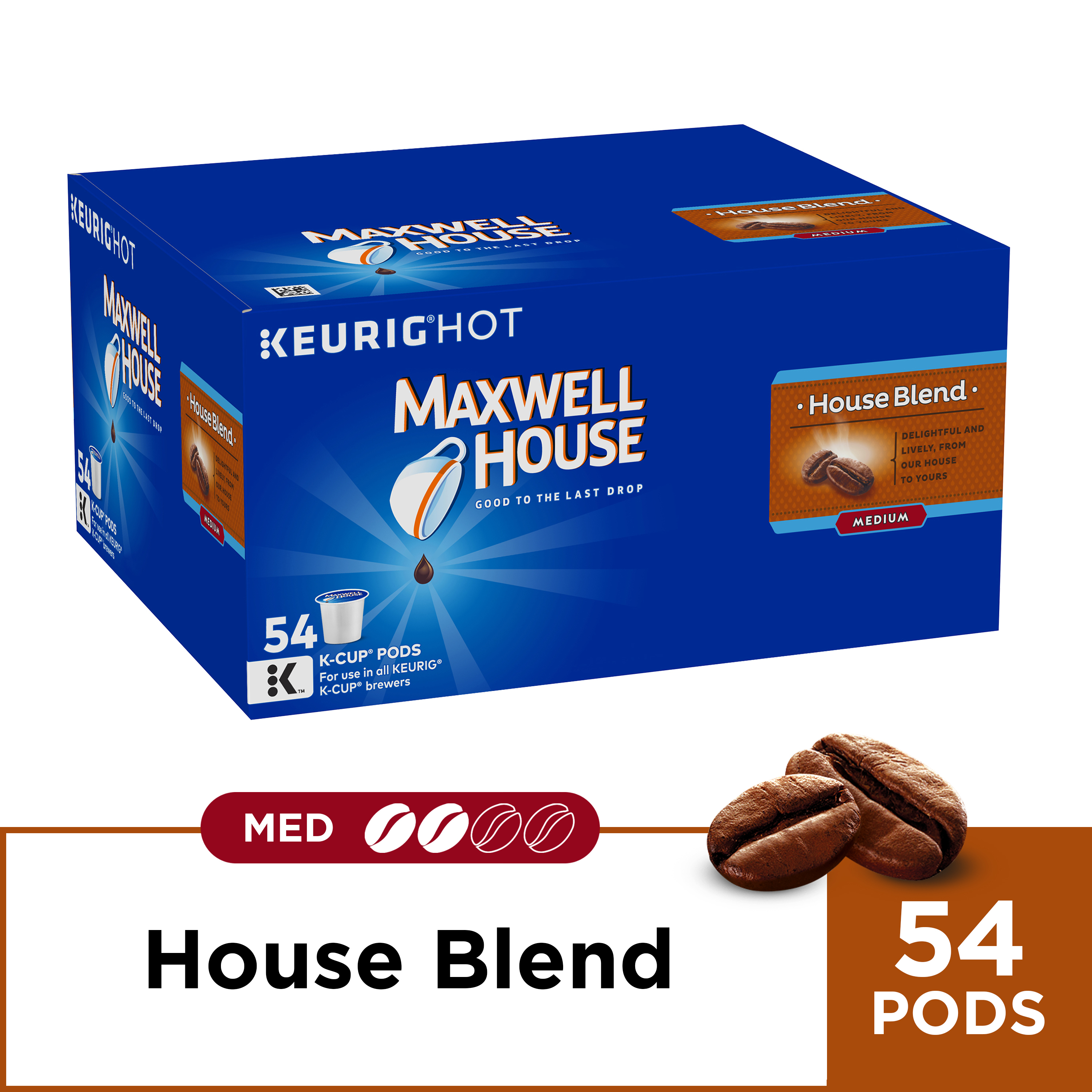 Maxwell House House Blend Coffee K-Cup