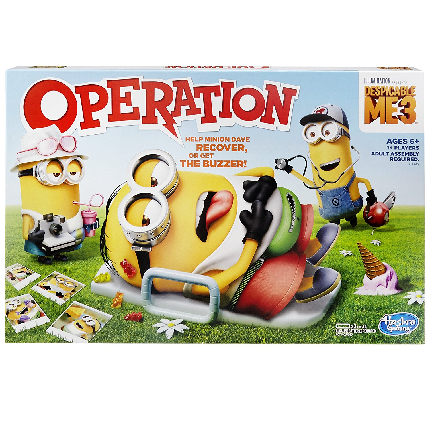 Despicable Me 3 Operation Game By Hasbro Ship from US by