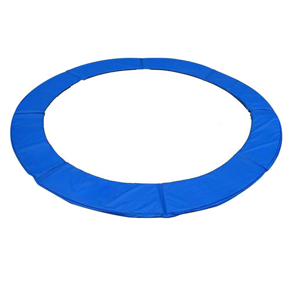 "GHP Blue UV Treated Coating Cold-Crack Protected PVC 13"" Trampoline Safety Pad Cover"